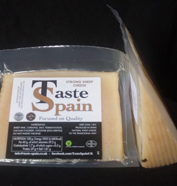 Strong cheese Taste Spain