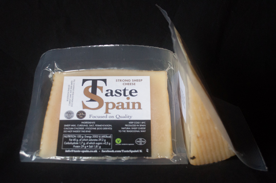 Strong cheese Taste Spain