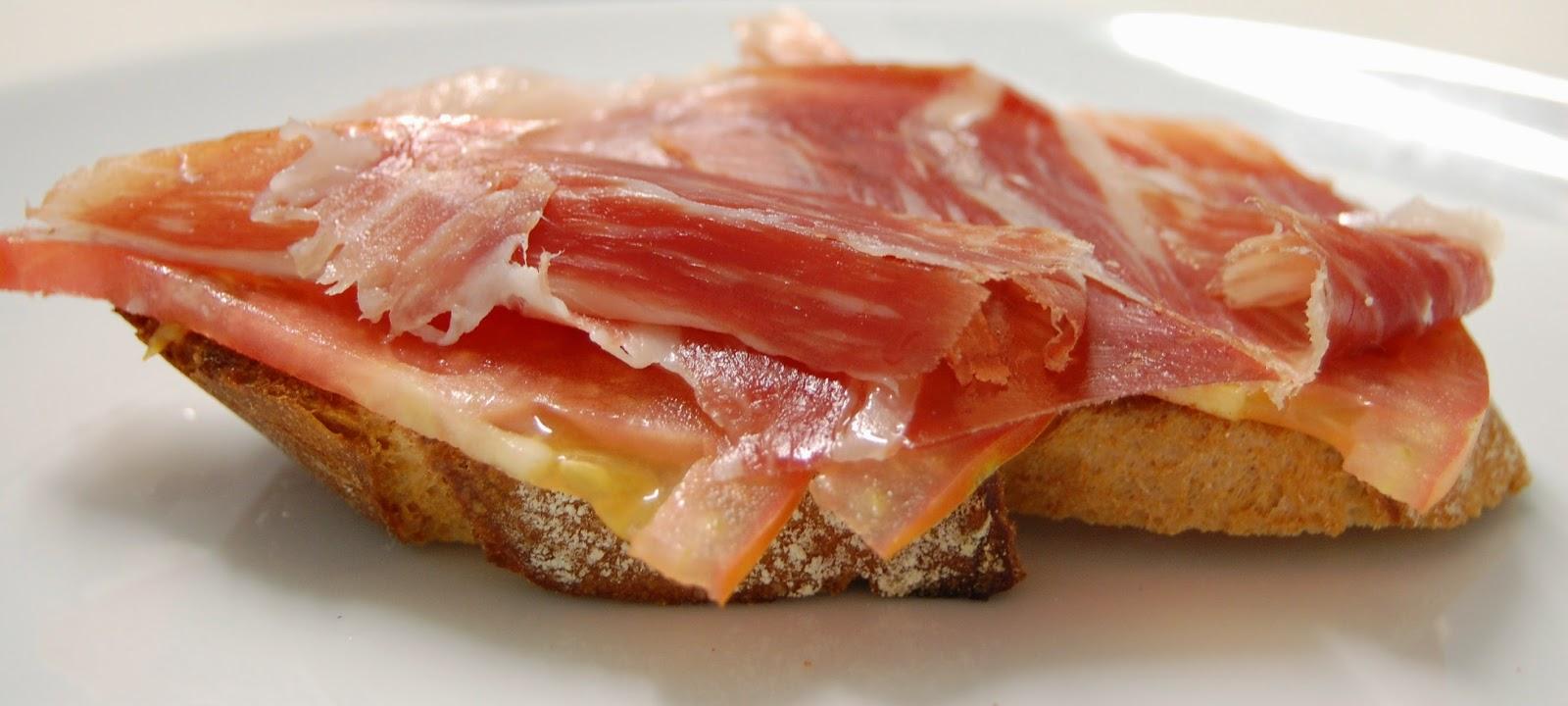 Ham Toast Taste Spain