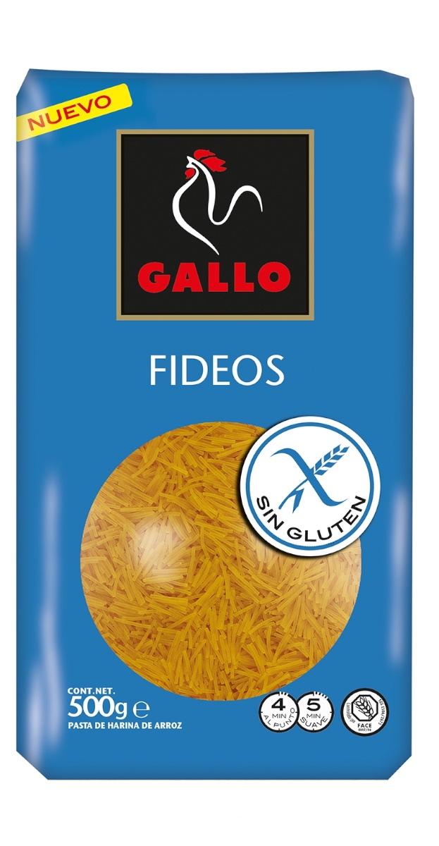 Fideos gluten free